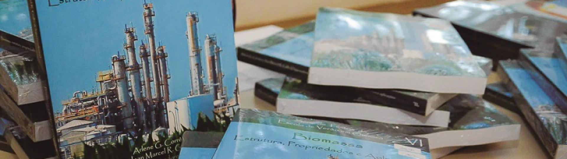 Biomassa é tema de livro lançado pela Escola de Verão em Química da UFSCar